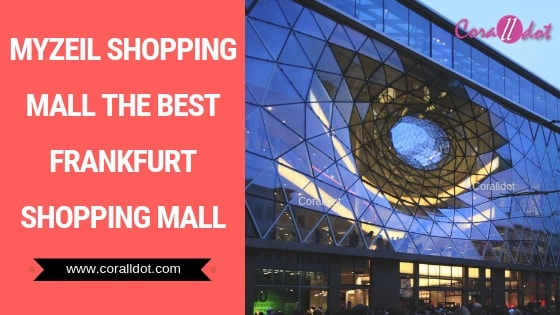 MyZeil shopping mall the best Frankfurt shopping mall